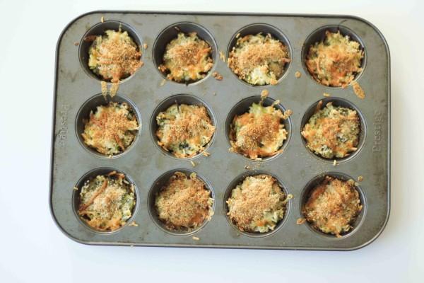 Easy School Lunchbox Idea - Broccoli, Cheddar & Rice Balls