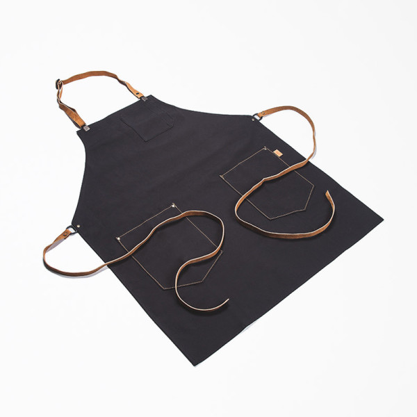 Black Kitchen Apron for Men from Chic & Basta