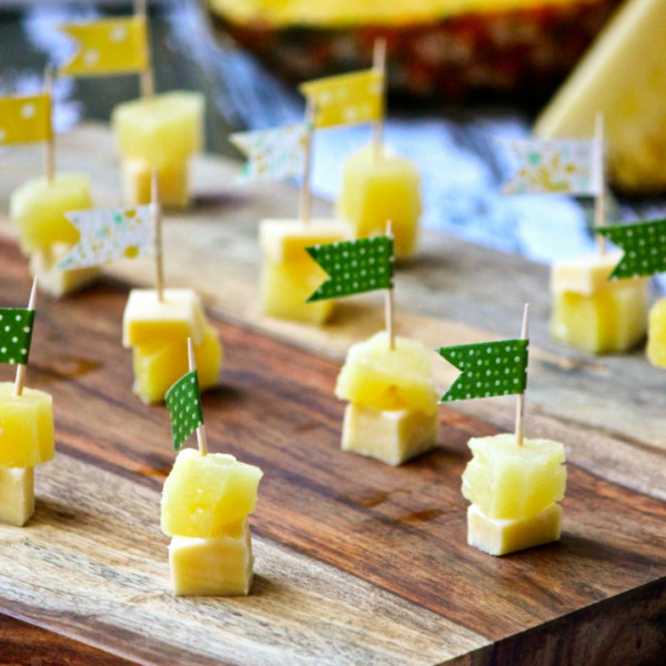 Pineapple and Cheese Sticks from She Eats