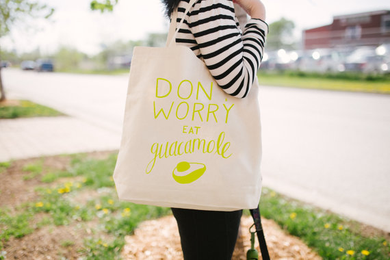 Don't Worry Eat Guacamole by Sea + Lake Paper Co.