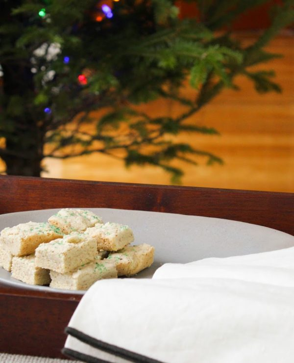 Vanilla Cardamom Shortbread