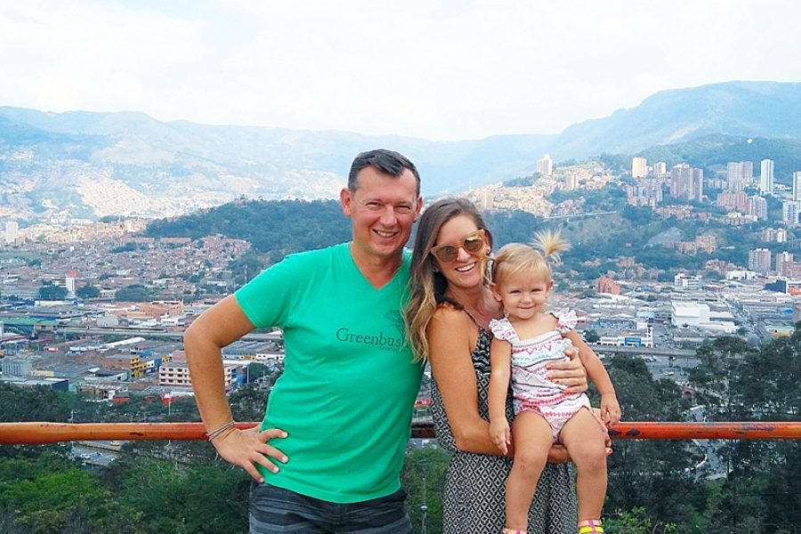 Travel with Toddlers   Ashleigh Timchenko   Medellin Colombia