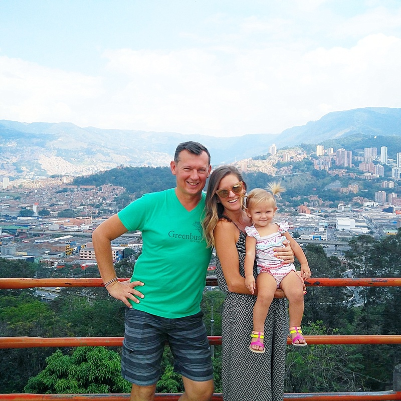 Travel with Toddlers | Ashleigh Timchenko | Medellin Colombia
