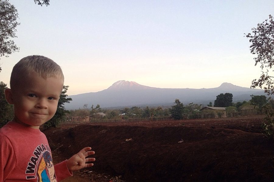Travelling with Toddlers | Lisa in Tanzania