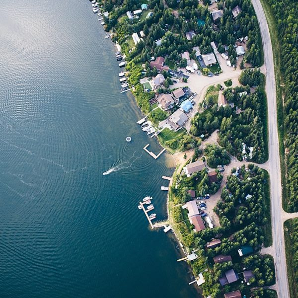 Loon Lake Saskatchewan Aerial Photography