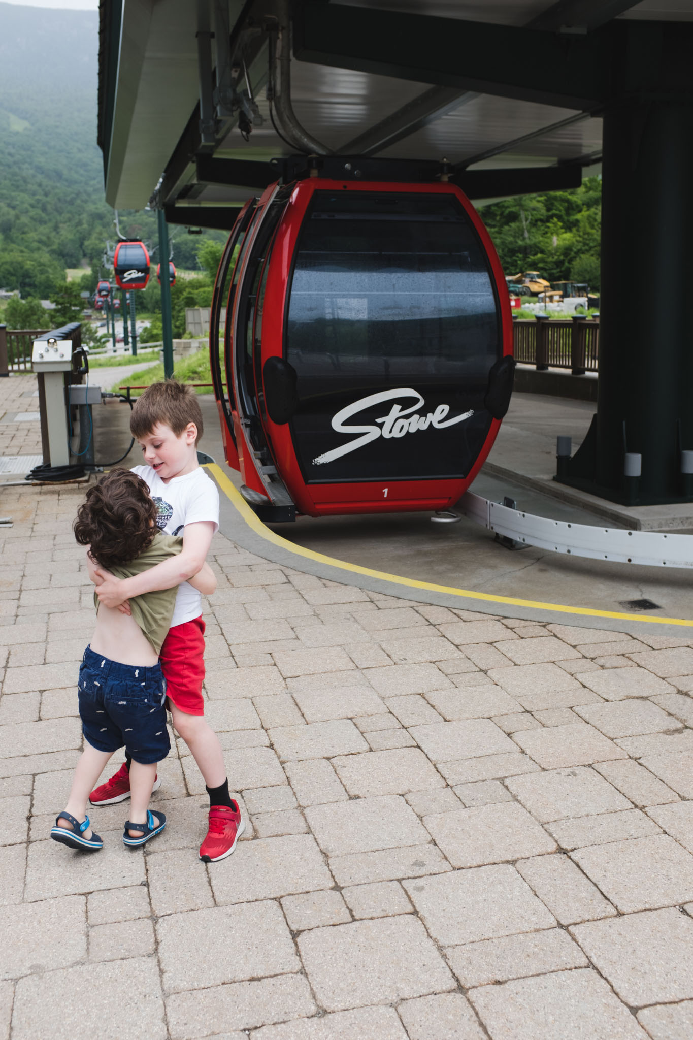 Travelling with Kids to Stowe Vermont