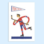 Montreal Hockey by Paperole
