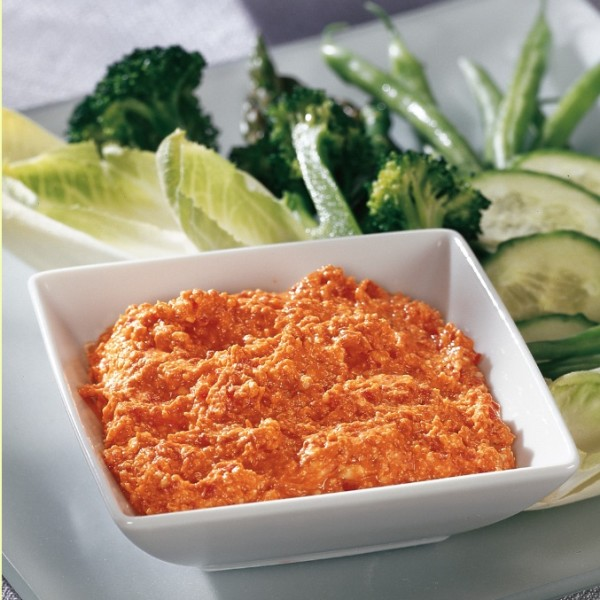 Feta Roasted Red Pepper Dip 150 Dips & Salsas