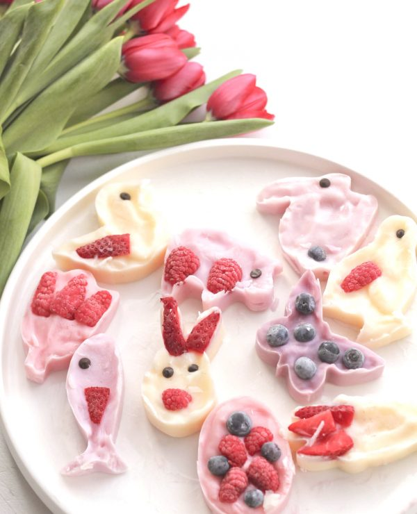 Easy Frozen Yoghurt Easter Craft (www.roastedmontreal.com)