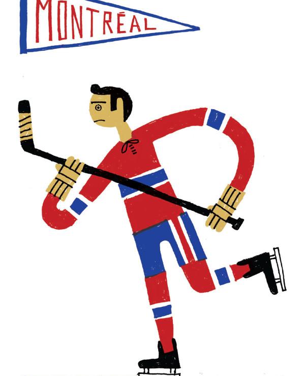 Montréal Hockey © Benoit Tardif   Paperole