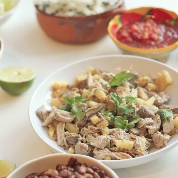 Easy Slow Cooker Tacos al Pastor (www.roastedmontreal.com)