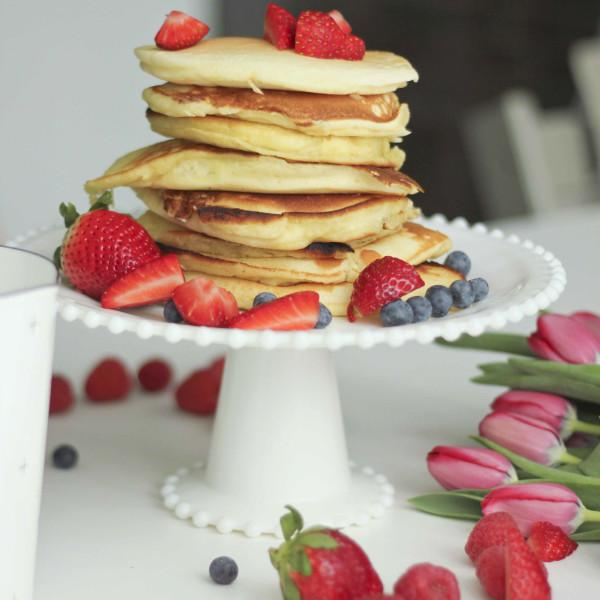 Easy Pancake Recipe | roastedmontreal.com