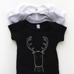 Modern Unisex Onesies by The Wild | Unisex Baby Gifts | RoastedMontreal.com