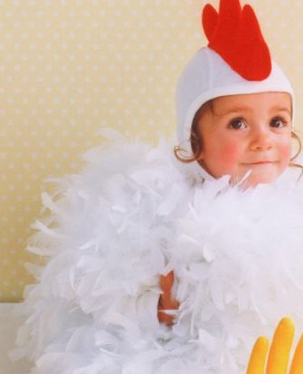 Baby Chicken Halloween Costume from Martha Stewart