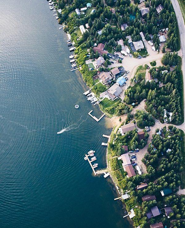 Loon Lake Saskatchewan Aerial Photography